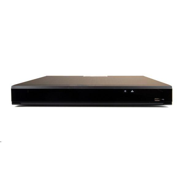 16 Channel 4K DVR Records AHD, TVI, CVI, and Analog Cameras Up to 4K Resolution W/ Ability to add 8 IP cameras (16-DVR4K)