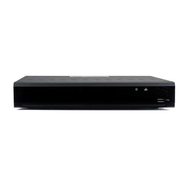 8 Channel 4K DVR Records AHD, TVI, CVI, and Analog Cameras Up to 4K Resolution W/ Ability to add 4 IP cameras (8-DVR4K)