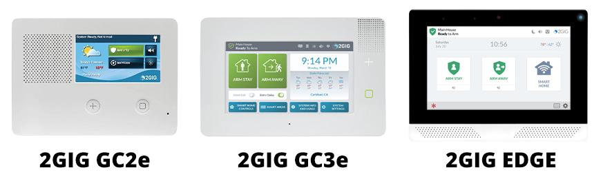 The evolution of 2GIG alarm panels