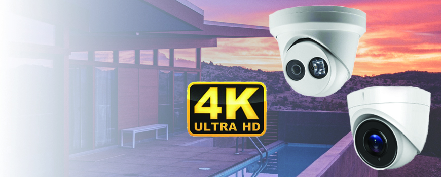 4K IP vs 4K HD-TVI: Turret Dome Security Camera Quality and Performance Review
