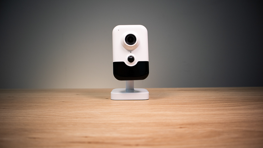 The NSC-245W-C, an attractive 5MP Wi-Fi Cube Camera.