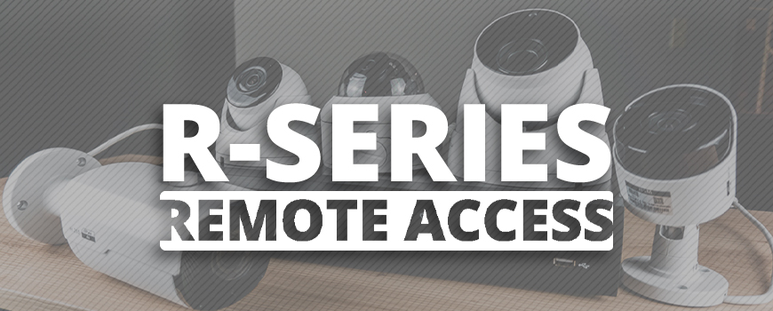 Remote Access Has Never Been Easier! View Camera and NVR Feeds Straight From Your Phone or Computer