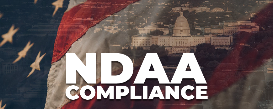 Complete Guide to NDAA Compliance: Which Security Cameras Can You Install on U.S. Government Properties?