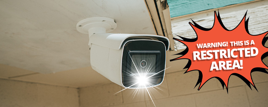 Active Deterrence Cameras: Motion-Activated Strobe, Siren, and Vocal Warnings. Say Goodbye to False Alarms!