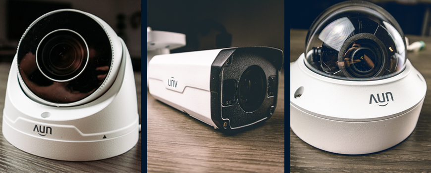 Uniview Motorized Lens Bullet, Turret, and Vandal Dome IP Security Cameras: Full Review and Product Demo