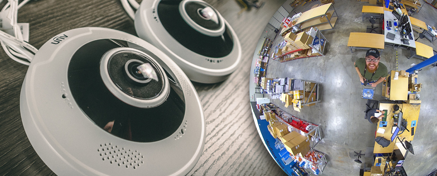 Uniview 360° Fisheye Lens IP Security Camera Full Review (IPC868ER-VF18-B & IPC815SR-DVPF14)