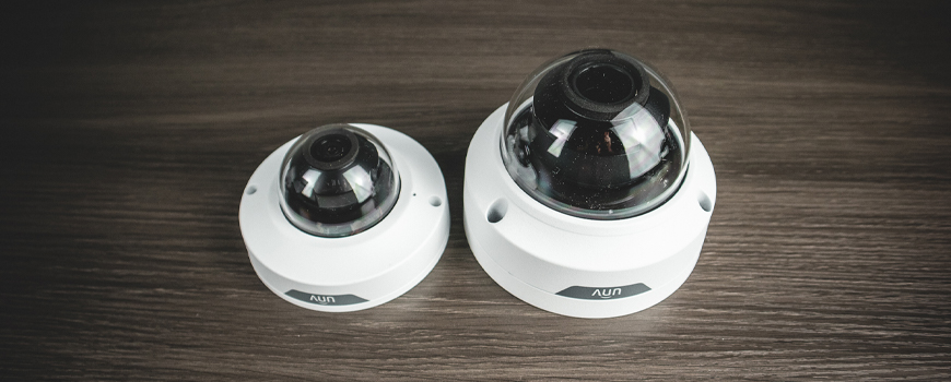 Uniview's New Pigtail-Free Dome IP Security Cameras