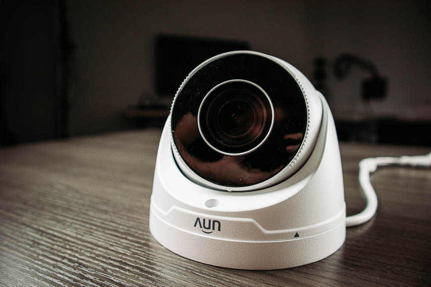 Uniview motorized lens turret ip security camera