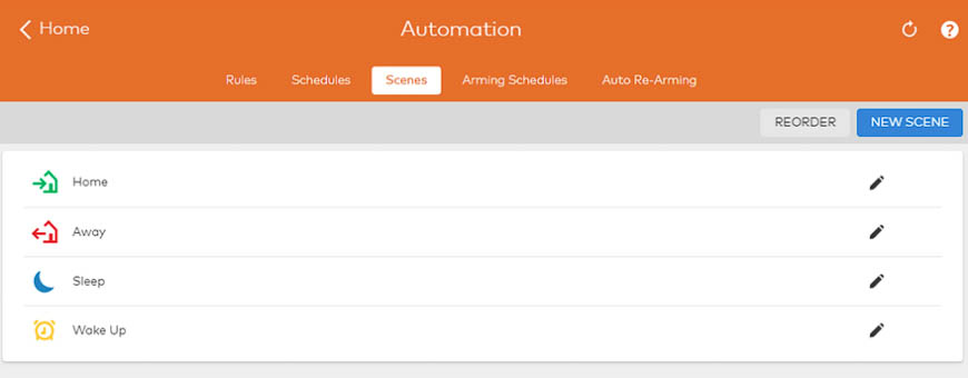 You can use scenes and scheduels to automate your entire day.