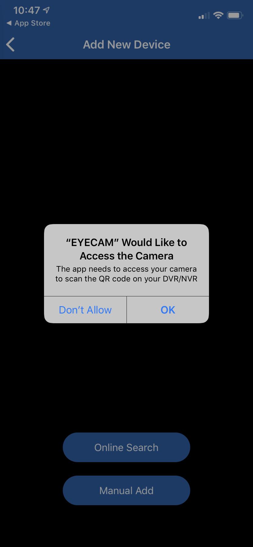 EYECAM - приложение для видеонаблюдения. Руководство. Скачать