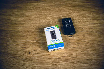 The 2GIG eSeries encrypted keyfob