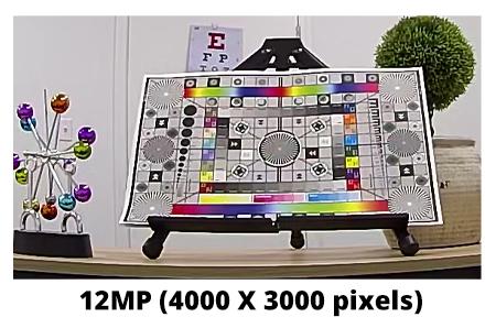 12MP Fisheye image