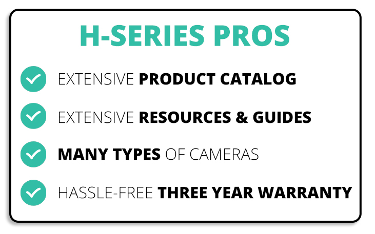 H-Series Pros