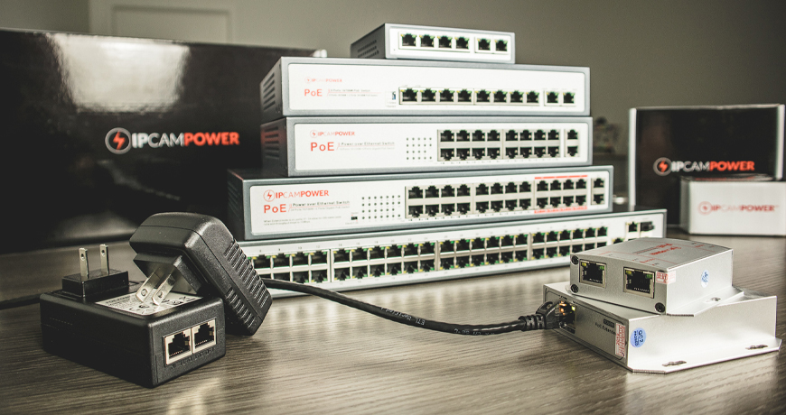 IPCamPower PoE Products