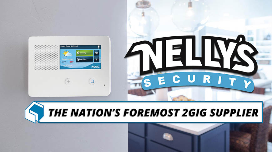 Nelly's Security is the nation's foremost 2GIG supplier.