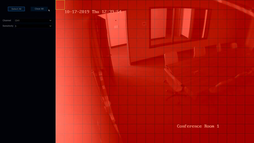 Motion Detection Screen 2