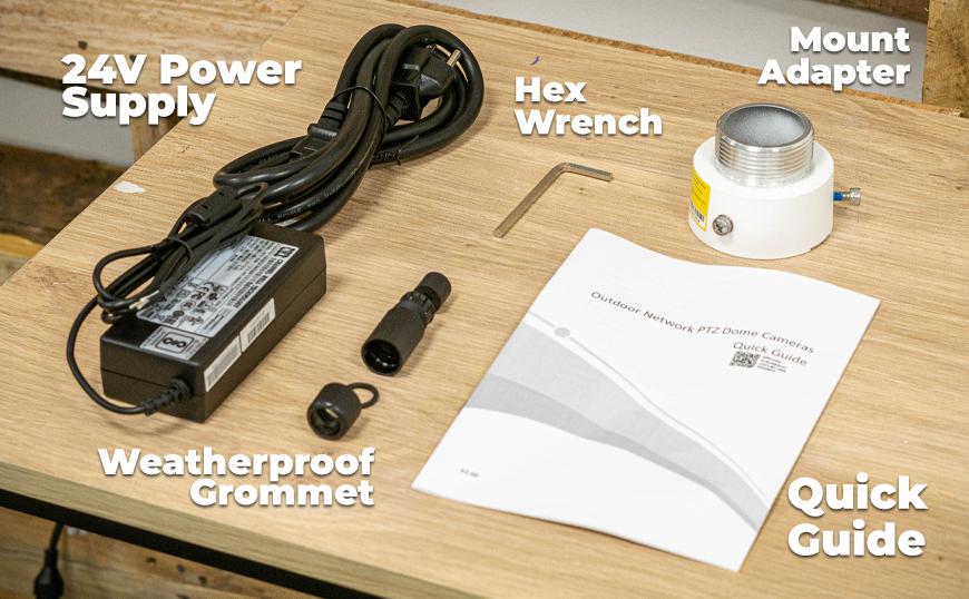 The NDAA-Compliant PTZ (IPC6622SR-X33-VF) Unboxed