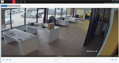 Single-channel view on the new CamViewer software, now available for Mac