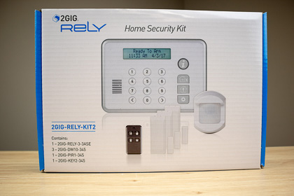 The complete Rely Panel alarm system kit