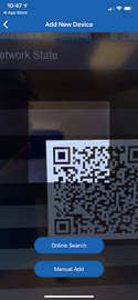 Scan the QR code found on your product or its packaging.