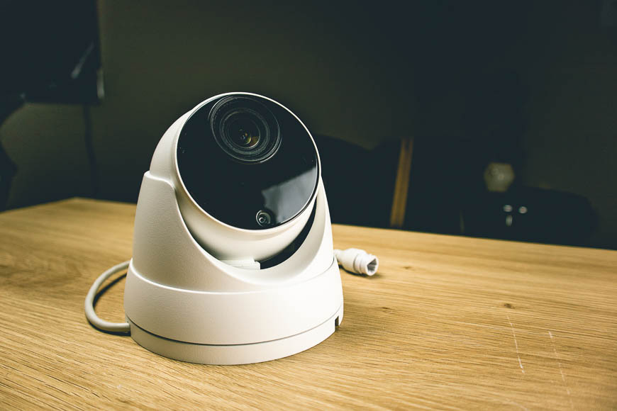The beautiful motorized varifocal lens turret in our R-Series line of surveillance products