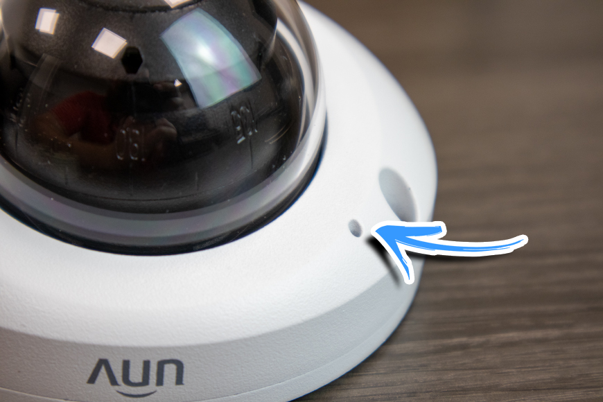 The Uniview Mini Dome Microphone