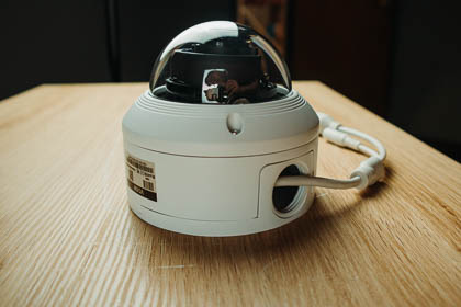 VD5M, a 5MP Vandal Dome, your new go-to security camera.