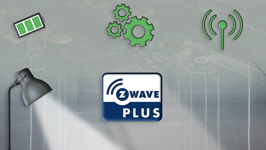 Z-wave Plus allows smart home products to have longer battery life, further range, and all-around better performance.