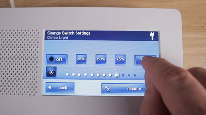 Control your lights with the 2GIG GC2e