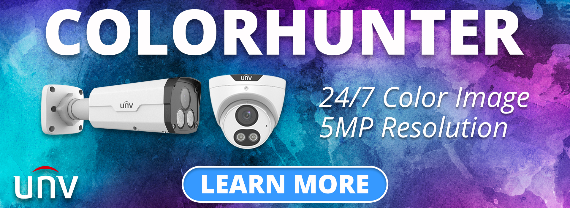 ColorHunter 24/7 Color Security Camera from Uniview