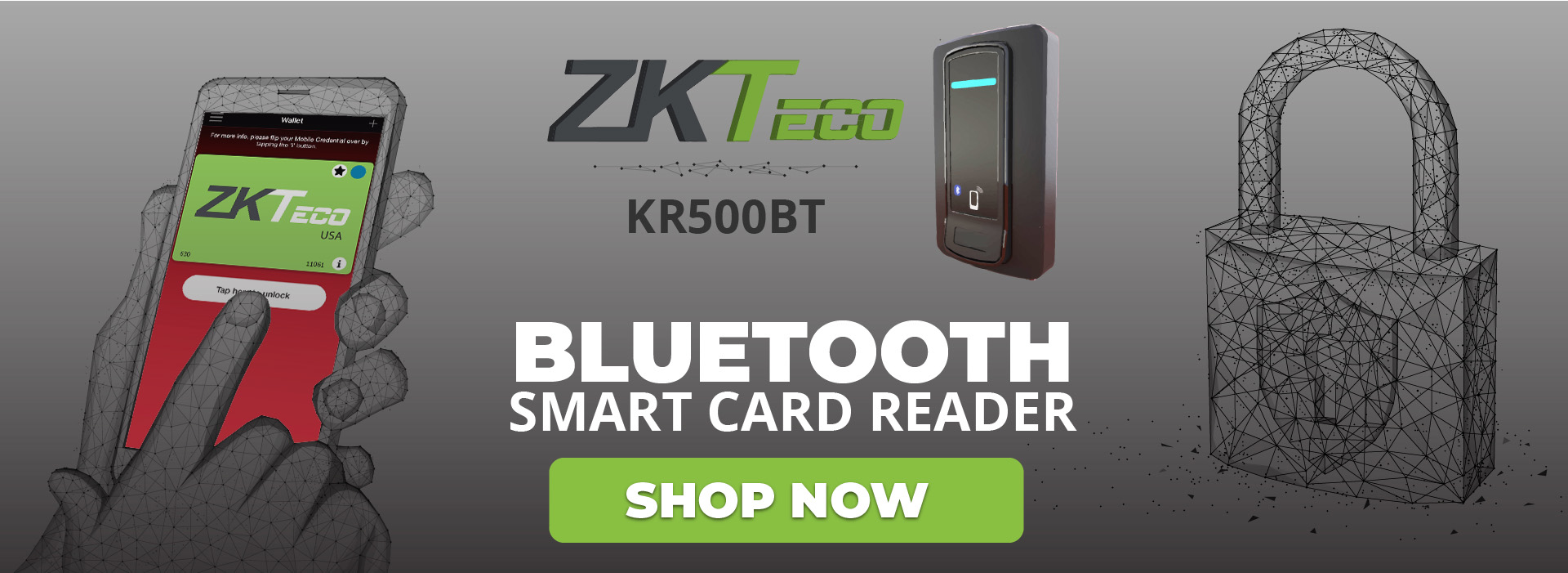 ZKTeco Bluetooth Reader KR500BT