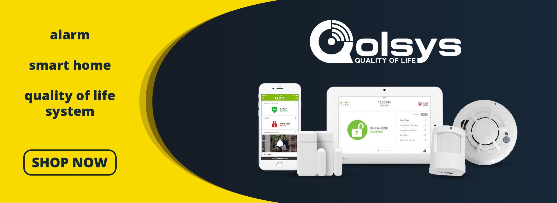 New Qolsys Alarm Panels Available Now!