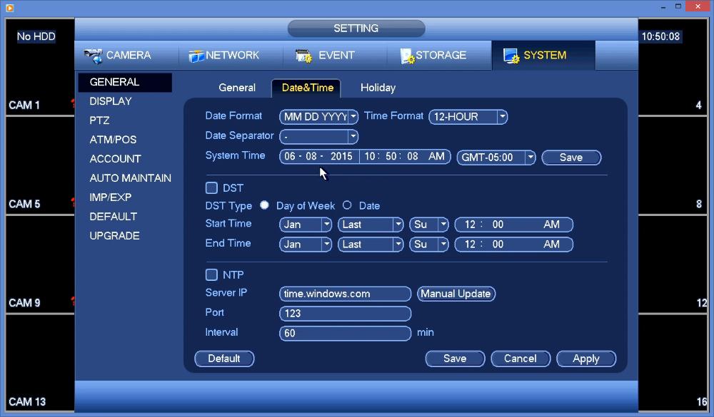 EYEsurv / Dahua DVR Quickstart Guide - Nelly's Security